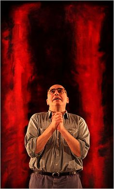 RED - a brilliant play with Alfred Molina as Mark Rothko. Of course, tough not to love anything with Alfred Molina in it. Eugene Ionesco, Contemporary Plays, Seasons Restaurant, Red Play, Alfred Molina, Tony Award Winners, New York Studio, Racehorse, Art