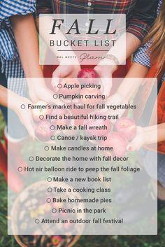 Gal Meets Glam Fall Bucket List http://galmeetsglam.com/2017/09/fall-bucket-list/