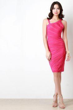 af49cecad40e Asymmetrical Shoulder Contrast Mesh Bodycon Dress Contrast, Mesh, Shop,  Formal Dresses, Dresses