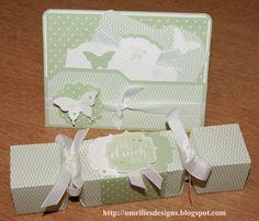 Envelope Punch Board , Box,Card, Knallbonbon,Pistazie, File Folder, Flüsterweiss,Butterfly , Schmetterling, Stampin UP Ideas