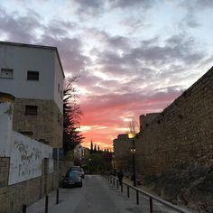 #Jaén sin filtros. #Andalucía #españa #andalousie #spain #sunshine #nubes #clouds #atardecer #sinfiltro #withoutfilter