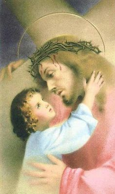 The love of small children is a consolation to the Heart of Jesus.
