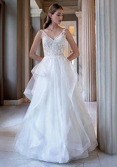 Demetrios Oslo, Wedding Dresses, Fashion, Bride Dresses, Moda, Wedding Gowns, Wedding Dress, Fasion, Bridal Gowns