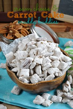 Cream Cheese & Carrot Cake Muddy Buddies