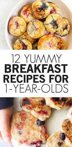 Healthy Toddler Breakfast, Baby Breakfast, Healthy Toddler Snacks, Healthy Baby Food, Healthy Toddler Meals, Breakfast Meals, Perfect Breakfast, Kids Meals, Meals For Babies