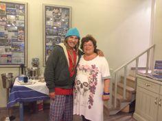 John Galliano in Tassia restaurant ,Fiscardo, Kefalonia,Greece .  30 Aug 2012.