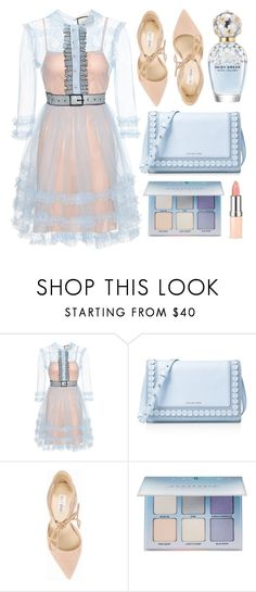 """""""Princess"""" by monmondefou ❤ liked on Polyvore featuring Gucci, MICHAEL Michael Kors, Nly Shoes, Anastasia Beverly Hills, Marc Jacobs and Blue"""