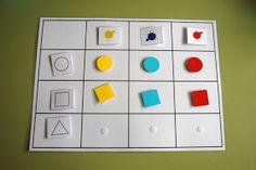 Se trata de un material que he elaborado para trabajar el productocartesiano.   Pictogramas de forma, color y tamaño para colocar en la ... Activity Games, Activities, Practical Life, Pre School, Primary Colors, Holiday Decor, File Folder, Maths, Puzzle