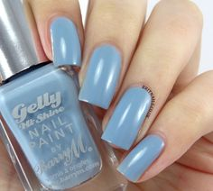 Barry M Gelly Nail Paint Summer 2014 - ELDERBERRY