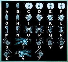Fringe Glyph decoder. Secret message in every episode. I'll have to have this on hand while I go through the series