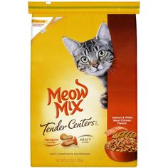 Meow Mix Tender Centers Salmon and Chicken Flavors with Vitality Bursts Dry Cat Food, 15.5 lb * For more information, visit image link. (This is an affiliate link) #CatFood