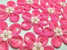 Tutorial # 28 Quilling Made Easy # How to make Beautiful Quilling Paper design -Paper Art - YouTube