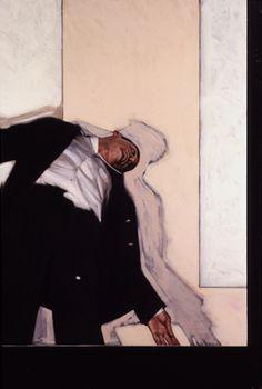 "Stephen Conroy, ""Ixion,"" 2002, oil on canvas, 183 x 122cm"