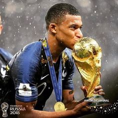 19 year old French footballer Kylian Mbappé who has African parents 8be04d51b