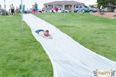 DIY Extra Large Slip N Slide Instructions-35