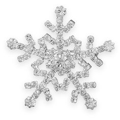Crystal Snowflake Christmas Pin  This brand new fashion pin makes a  wonderful holiday accessory. 6826daf5bdeb