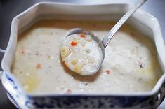 cauliflower soup- this is amazing!