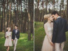 свадебная фотосессия в лесу -выездная регистрация брака-свадьба в лесу-организация свадеб-студия свадеб 1+1-свадьба в стиле рустик-свадьба сергея и насти-истории свадеб