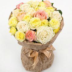 Артикул: 035-66 Состав букета: 29 роз белого, розового и желтого цвета, оформление Размер: Высота букета 50 см Роза: Выращенная в Украине http://rose.org.ua/bukety-iz-roz/732--buket-en-dzhoj-byket-roz.html #букеты #букетроз #доставкацветов #RoseLife #flowers #SendFlowers #купитьрозы #заказатьрозы   #розыпоштучно #доставкацветовкиев #доставкацветовукраина #срочнаядоставка #заказатьрозыкиев