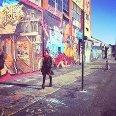 Graffiti walls & stuff