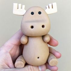 What animal should I make next? The moose cake topper is my new favorite! Moose Cake, Twin First Birthday, First Birthdays, Cake Toppers, Fondant, Modeling, Cake Decorating, Creativity, Cakes
