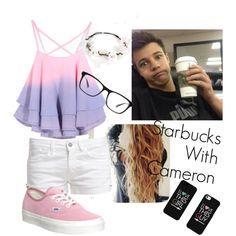 Starbucks with Cameron