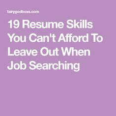 Top Skills For Resume Top Skills To List On Your Resume  Pinterest  Career Advice And .