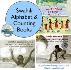 Swahili Alphabet and Counting Books | The Logonauts