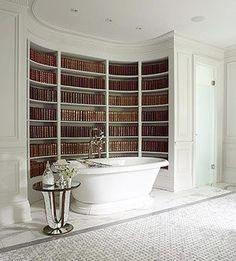 Bathing in books, aughhhhhh AMAZING!!!!!!!!!!!!!! :) :) :)