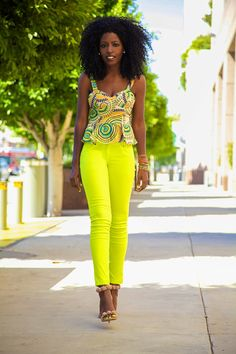 Love the neon pants