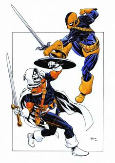 Tell me this xover battle royale never crossed your mind! Taskmaster vs. Deathstroke - Mike McKone