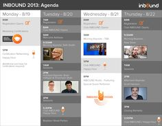 The agenda for INBOUND this year is stacked. Get excited :-)