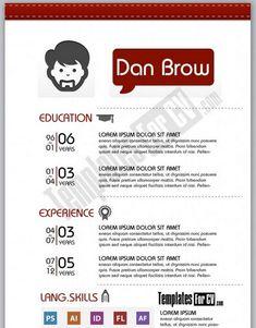 Resume Career termplate free Creative Resume Templates Word - http://www.resumecareer.info/creative-resume-templates-word-9/