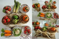 Légumes en pate à sel 1