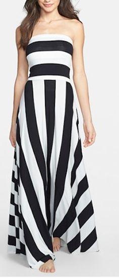 Pretty Striped Maxi Dress http://rstyle.me/n/fgtwjr9te