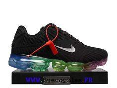 best website c7f51 d9c02 Nike Air Vapormax 2018 Drop Chaussures De Course En Plastique Pas Cher Pour  Homme Noir bleu
