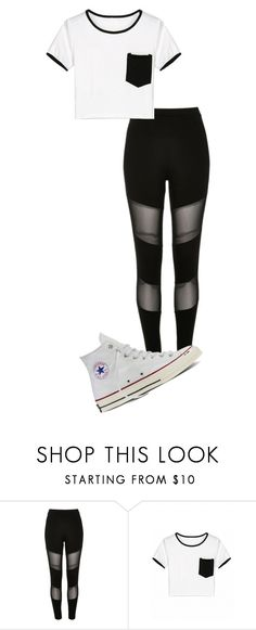 """Untitled #67"" by kbwalrus on Polyvore featuring River Island and Converse"