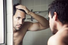 Balding Remedies 6 Common Causes of Male Hair Loss - Understanding the cause of your excessive hair loss in men can help you decide what treatment options are right for you or if your hair will grow back. Hair Loss Causes, Prevent Hair Loss, Gq, Combover, Excessive Hair Loss, Male Pattern Baldness, Hair Falling Out, Hair Starting, Hair Loss Treatment
