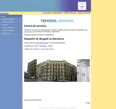 Nuestro website actual: 'http://www.trevisiolabogado.com/index.html' snapped on Snapito!
