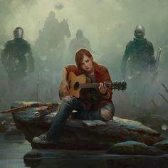 What did everyone think of the new Last of Us 2 trailer?  Redhead By Marek Okon  #LastofUs #LastofUs2 #NaughtyDog #Playstation #PS4 #Gaming #GameArt #ConceptArt #Art #FanArt #Game #Fantasy #Illustration #Zombies