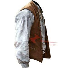 #ChrisHemsworth In the #HeartoftheSea #Brown #Vest