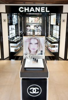 The newly designed Coco Chanel shop-in-shop  © Don Hebert Photography