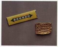 Ted Noten - Chew your own brooch!