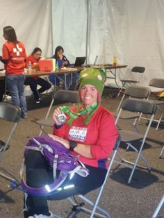 "Austin Marathon 1/2:  Yep, Med tent.  Worst bonk ever... Lots of ""Well, I won't do that again"" moments...  3:15:19  (2/17/13)"