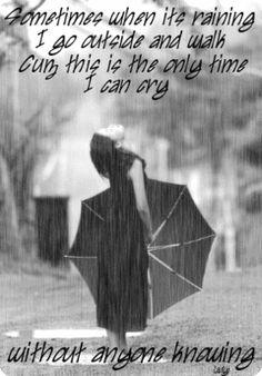 Rain Falling -
