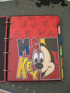 Disney Smash Book :o) although i have WAY too much disney to scrapbook to even think about a smash book!