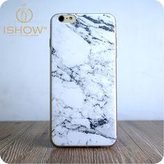 Nova moda telefone Soft Case TPU padrão de pedra de mármore Anti batida caso de telefone Fundas Capa para Iphone 5 5S 6 6 plus em Capas para Telefones Celulares de Telefones e Celulares no AliExpress.com | Alibaba Group