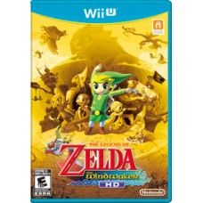 The Legend of Zelda Windwaker HD - Wii U - NEW Return to the timeless The Legend of Zelda series in its glorious return on the Nintendo Wii U console. Time is of the utmost importance and a new sail gives your ship more speed, so you'll cut through the waves to reach your destination faster.
