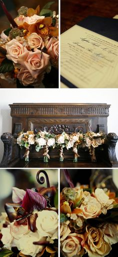 gorgeous fall #wedding #bouquets #flowers
