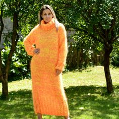 https://extravagantza.com/hand-knit-mohair-sweater/209-neon-yellow-orange-hand-knit-mohair-dress-fetish-turtleneck-by-extravagantza.html